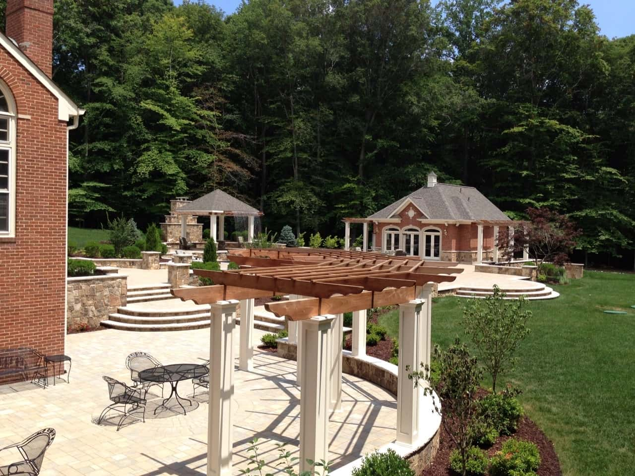 Custom Pergolas, Pool House, Arden on the Severn