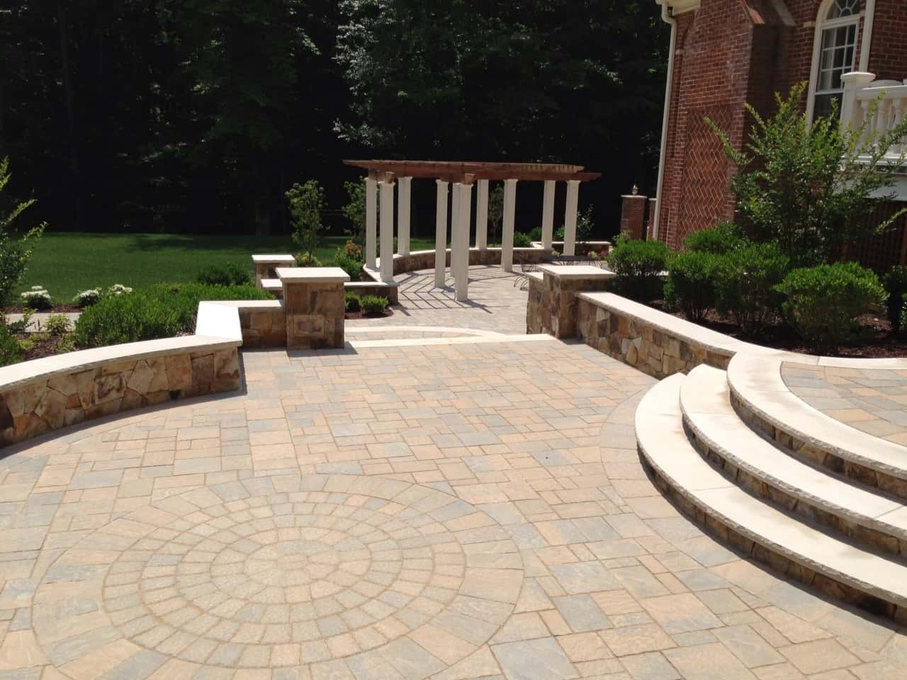 Paving Stone Patio, Arden on the Severn