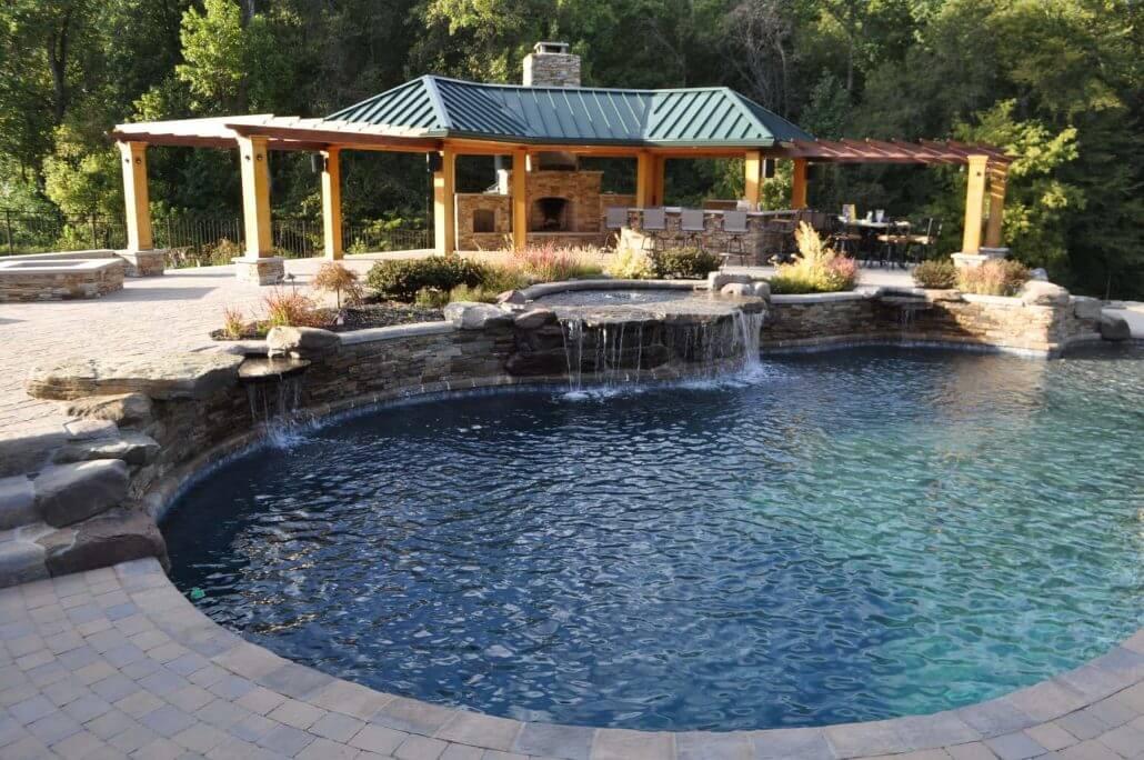 Johnson Pools Inground Custom Pool Designer Builder