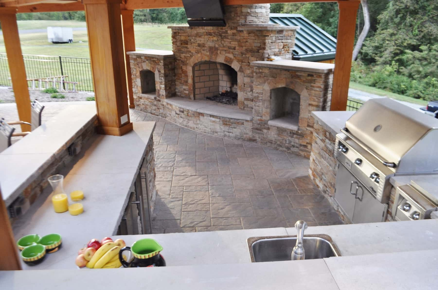 Fireplace, Outdoor Kitchen, Washington DC