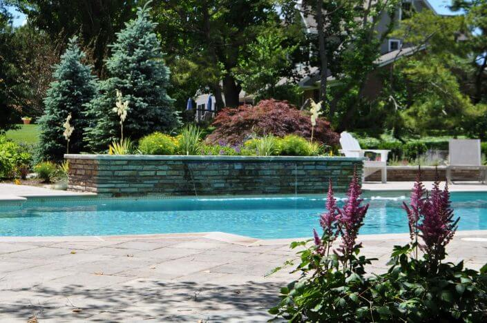 Johnson pools inground custom pool designer builder for Pool design maryland