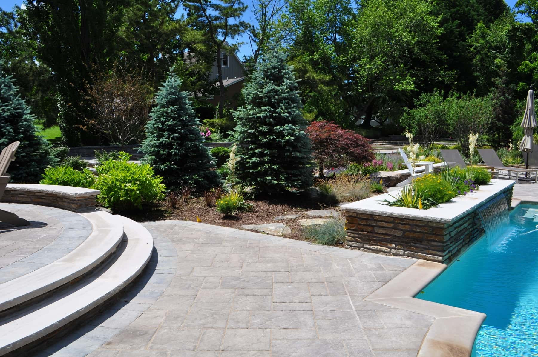 Paver Stone Patio, Landscaping, Baltimore, MD