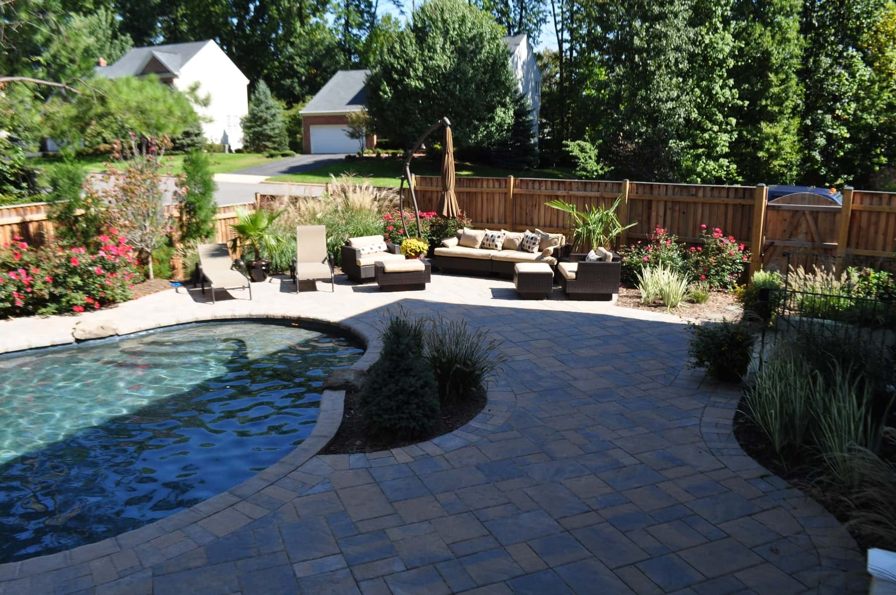 Paving Stone Patio and Pool Deck, Baltimore