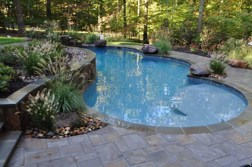 Inground Pool Landscaping Rocks