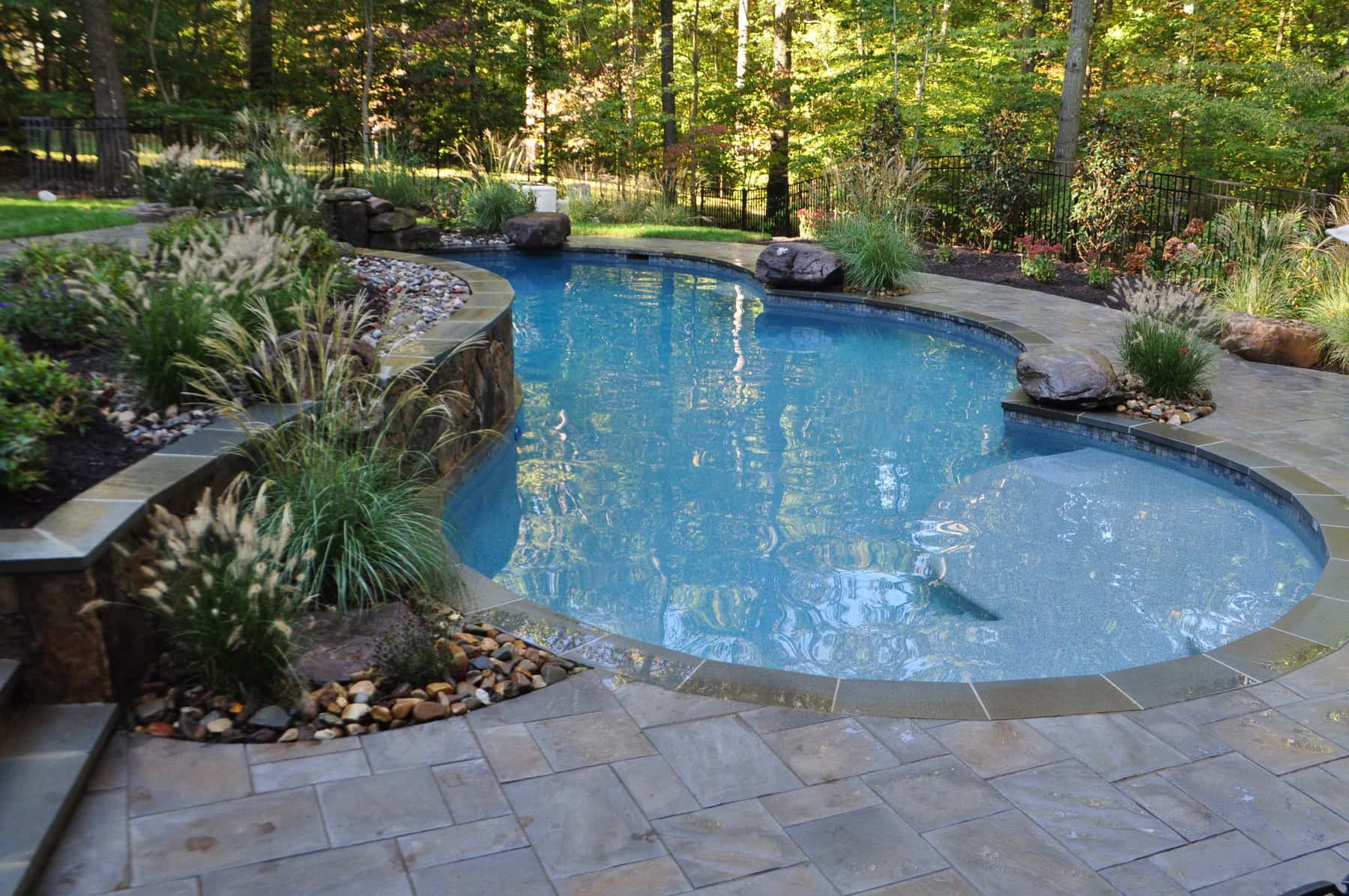 Pool Landscaping, Boulders, Annapolis MD