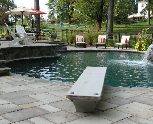 Freeform pool Annapolis, Maryland