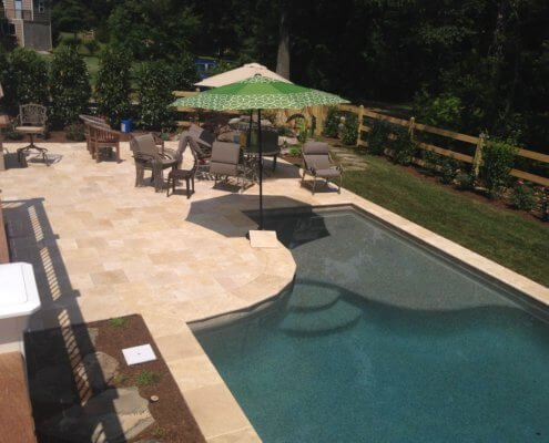 Custom Pool With Paver Patio