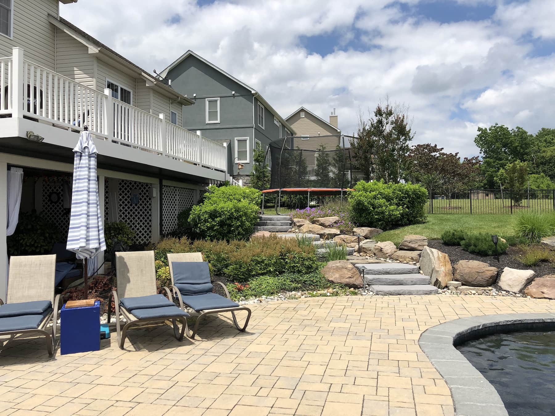Patio Paver Pool Decking Middletown MD